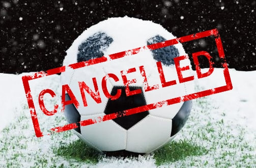 No Practice Tonight, Tues., Jan. 14 Due to Snow