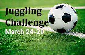 Juggling Challenge for the Week of March 24-29